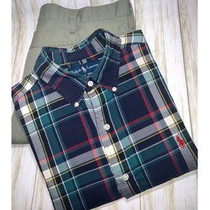 Ralph Lauren Classic Fit Long Sleeve Button Down